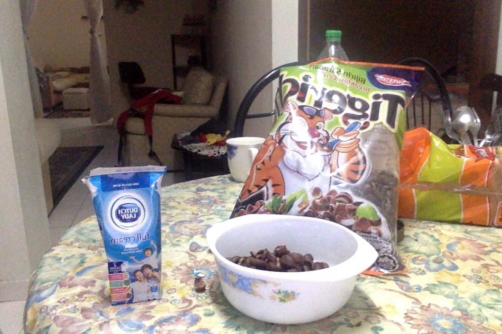 Завтрак в Малайзии